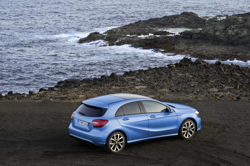 Mercedes-Benz A-Class – third-gen takes over the mantle Image #92607