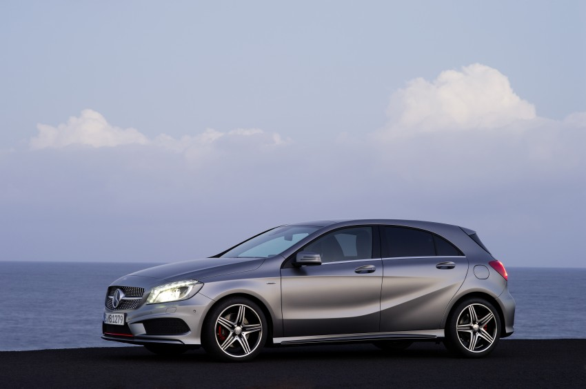 Mercedes-Benz A-Class – third-gen takes over the mantle Image #92589