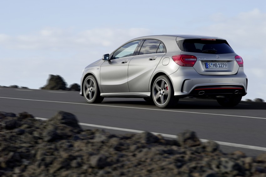 Mercedes-Benz A-Class – third-gen takes over the mantle Image #92593