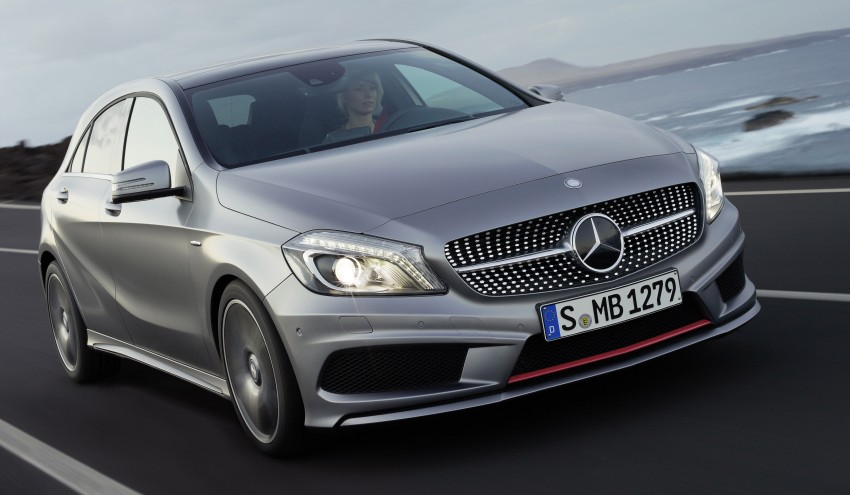 Mercedes-Benz A-Class – third-gen takes over the mantle Image #92578