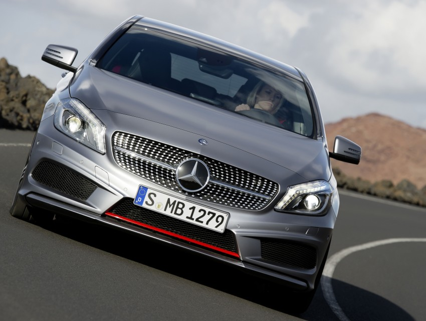 Mercedes-Benz A-Class – third-gen takes over the mantle Image #92579