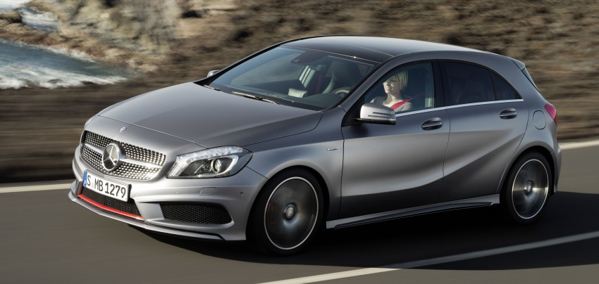 Mercedes-Benz A-Class – third-gen takes over the mantle Image #92581