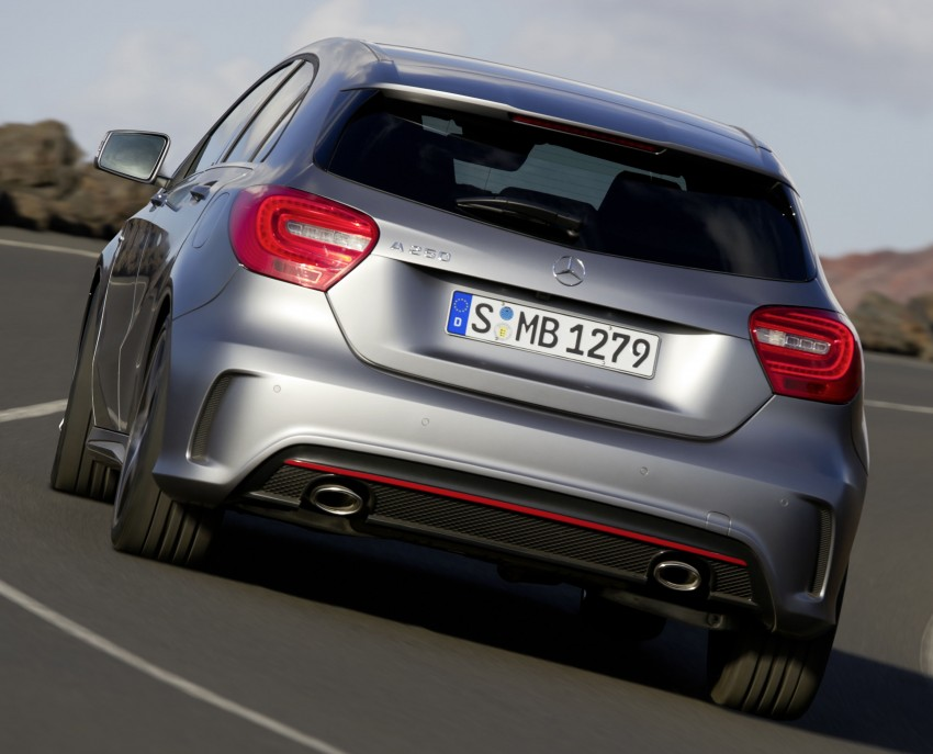 Mercedes-Benz A-Class – third-gen takes over the mantle Image #92582