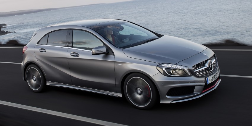 Mercedes-Benz A-Class – third-gen takes over the mantle Image #92583