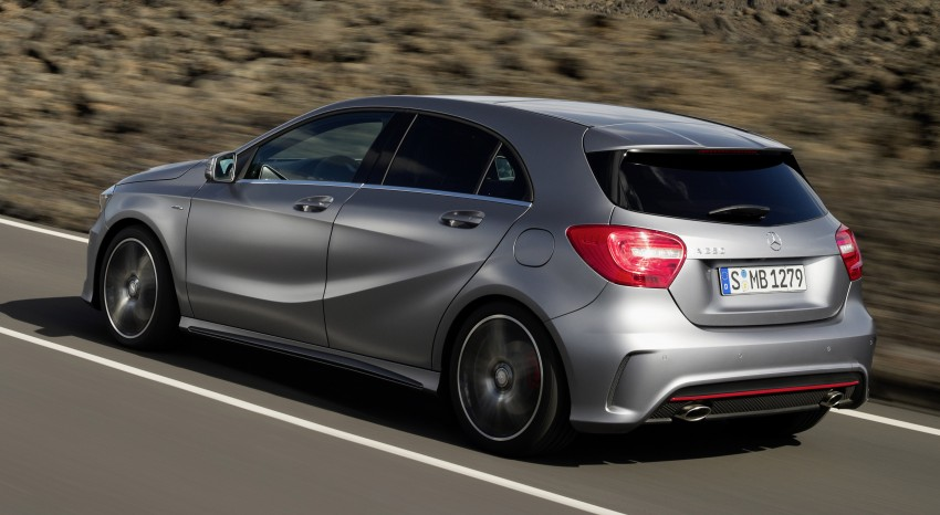 Mercedes-Benz A-Class – third-gen takes over the mantle Image #92627