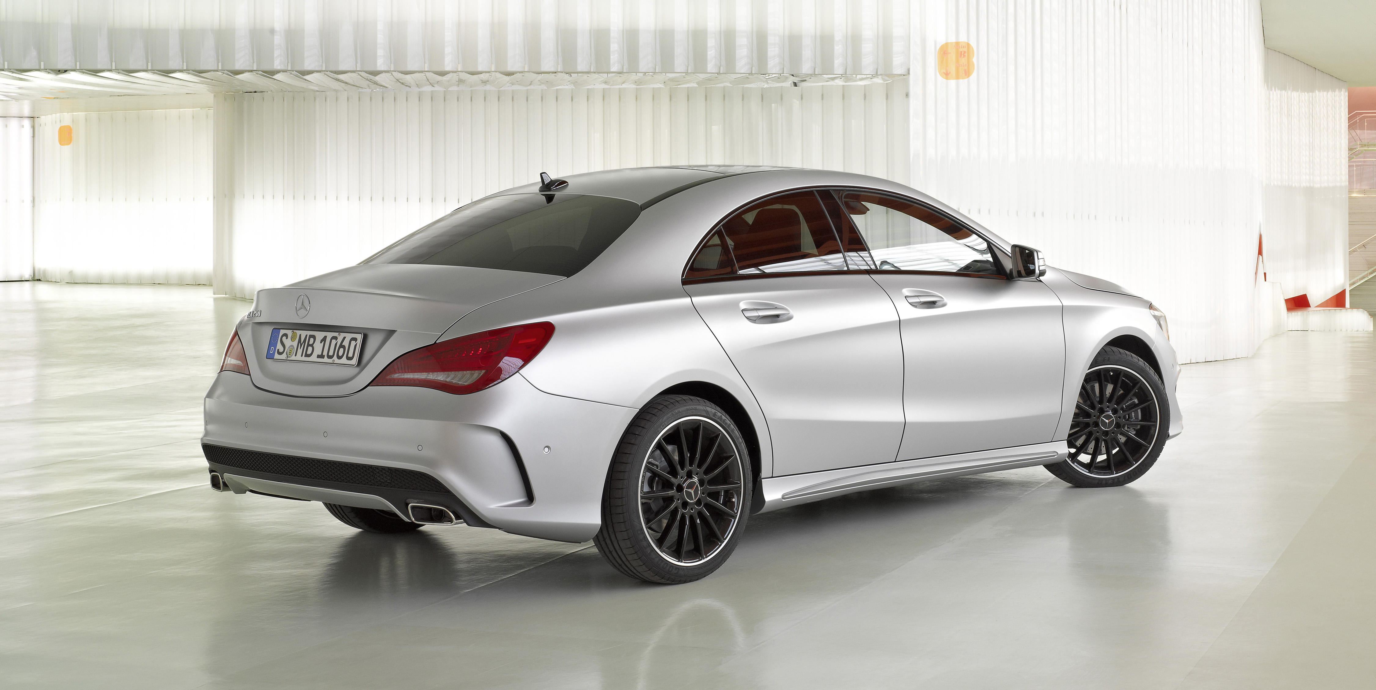 New MercedesBenz CLAClass makes its debut Image 149601