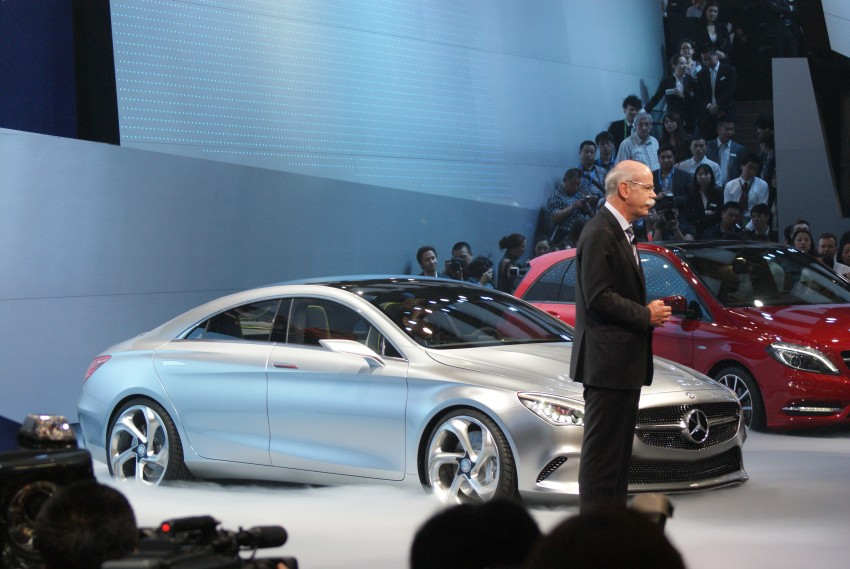 Mercedes-Benz Concept Style Coupé to debut in Beijing Image #103282