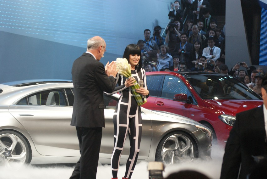 Mercedes-Benz Concept Style Coupé to debut in Beijing Image #103280