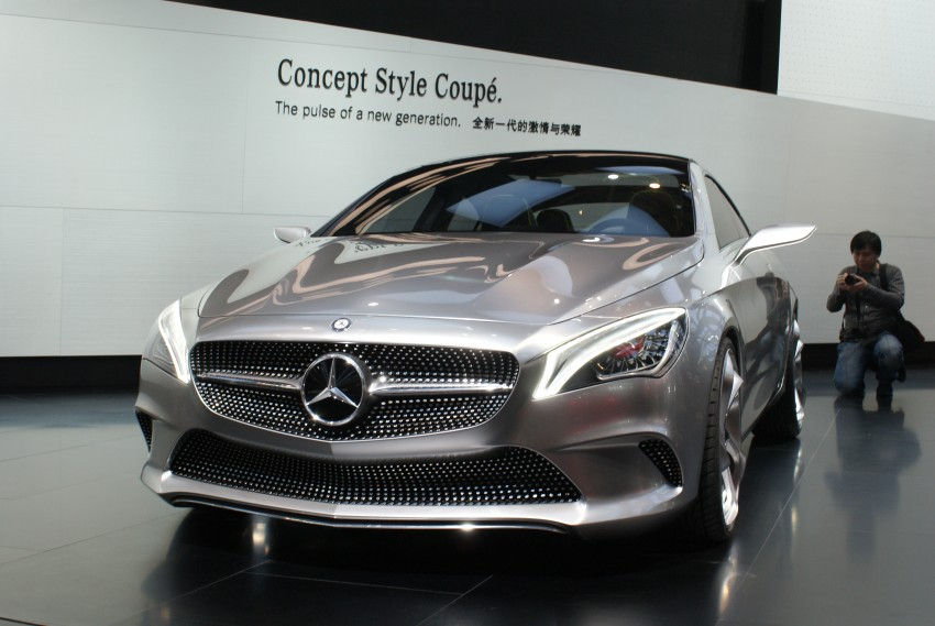 Mercedes-Benz Concept Style Coupé to debut in Beijing Image #103285