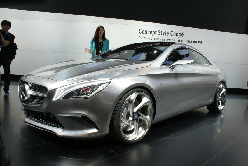 Mercedes-Benz Concept Style Coupé to debut in Beijing Image #103284