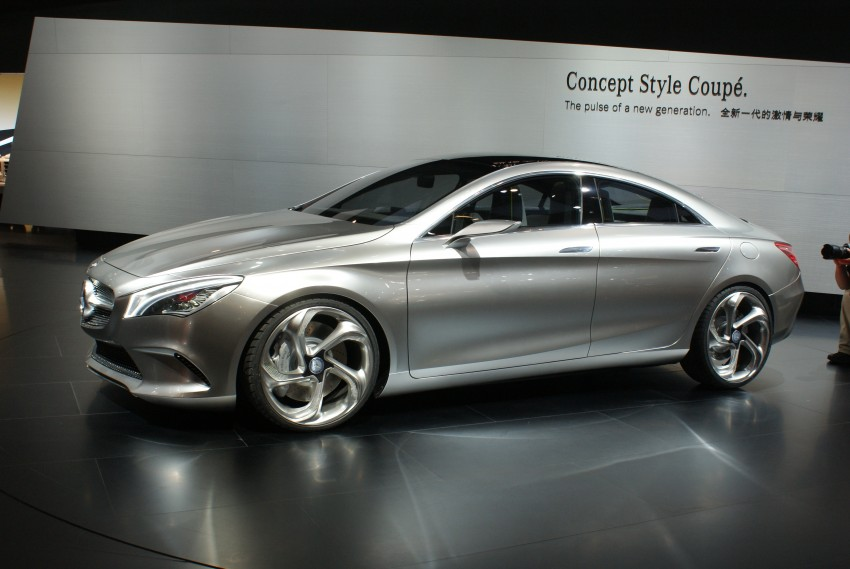 Mercedes-Benz Concept Style Coupé to debut in Beijing Image #103283