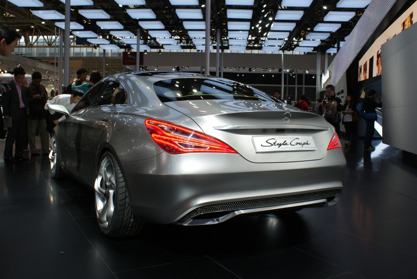 Mercedes-Benz Concept Style Coupé to debut in Beijing Image #103281