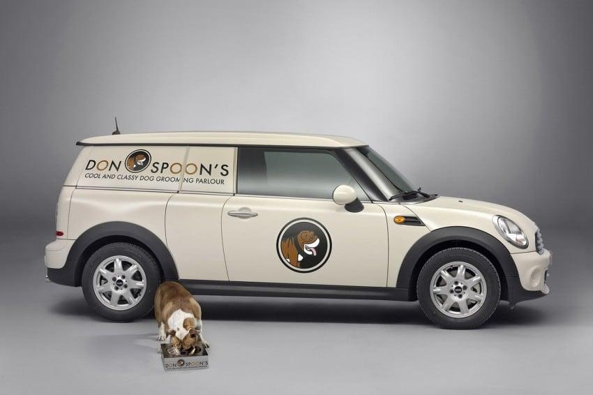 MINI Clubvan – first premium compact delivery van Image #114262