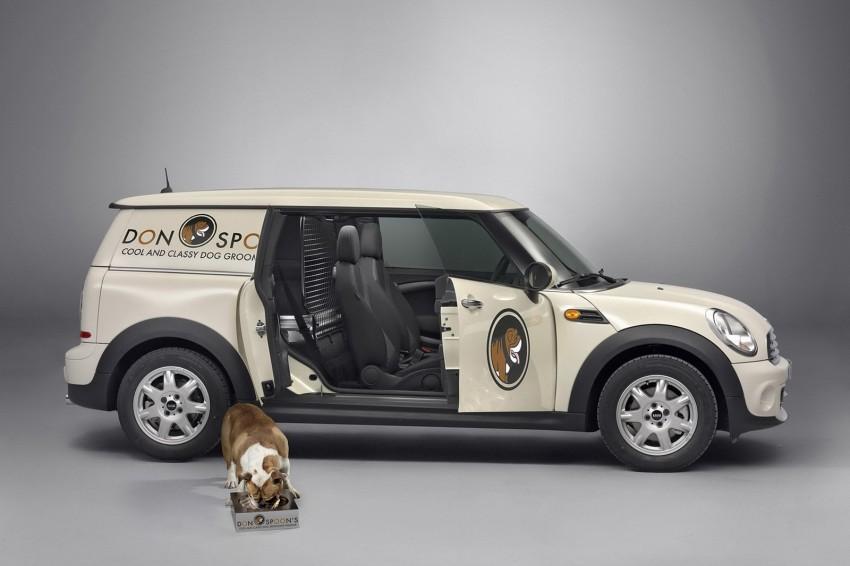 MINI Clubvan – first premium compact delivery van Image #114263