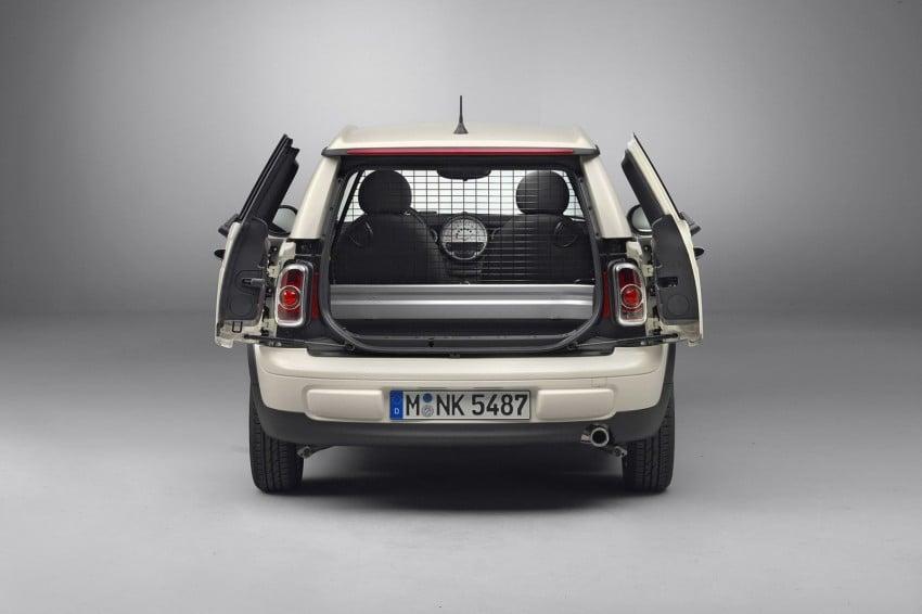 MINI Clubvan – first premium compact delivery van Image #114271