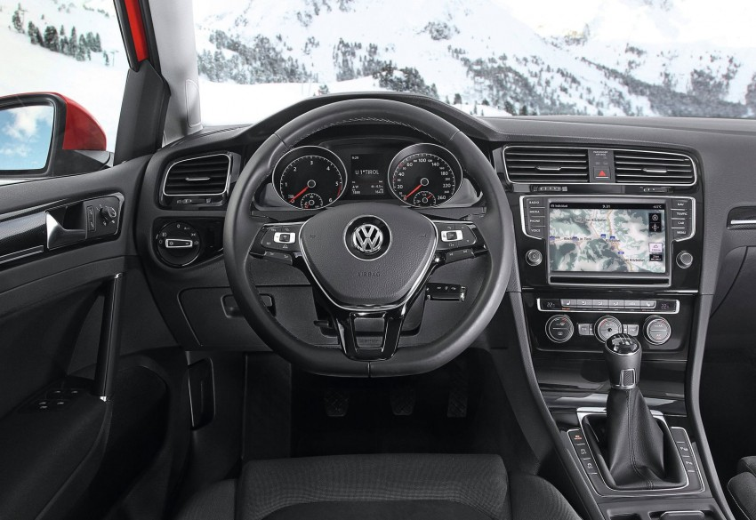 Volkswagen Golf 4MOTION – Mk7 gets an AWD variant Image #151569