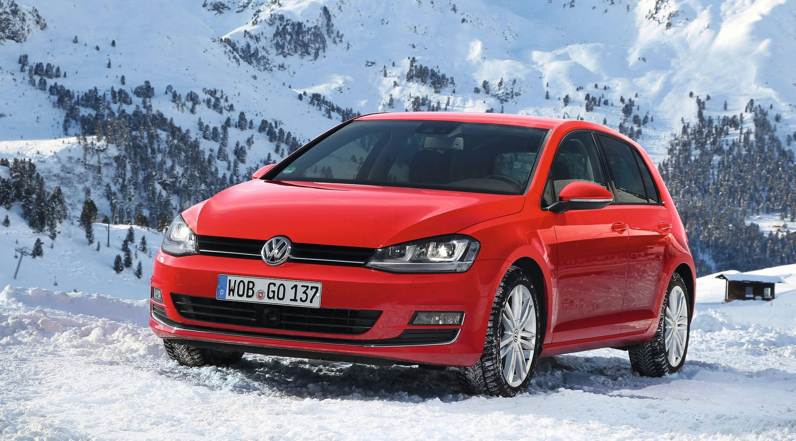 volkswagen golf 4motion mk7 gets an awd variant. Black Bedroom Furniture Sets. Home Design Ideas