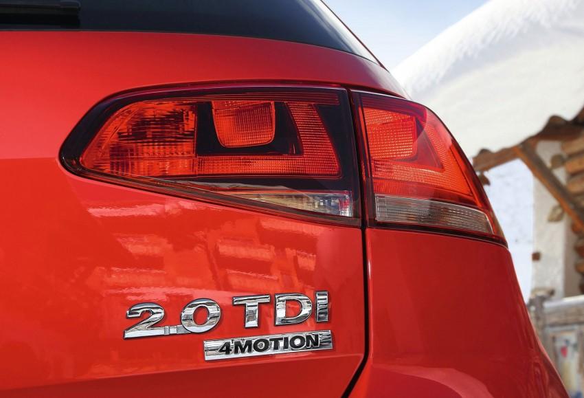Volkswagen Golf 4MOTION – Mk7 gets an AWD variant Image #151575