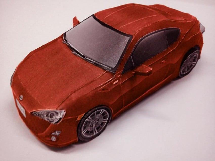 Toyota 86 assembled. Photo taken. Prize will be won. Image #104271