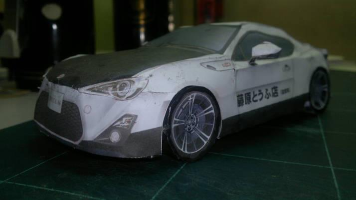 Toyota 86 assembled. Photo taken. Prize will be won. Image #104273