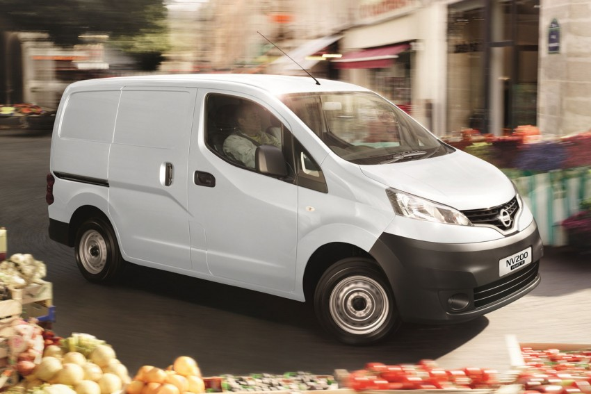 Nissan NV200 Vanette launched: successor to the C22 Image #88576