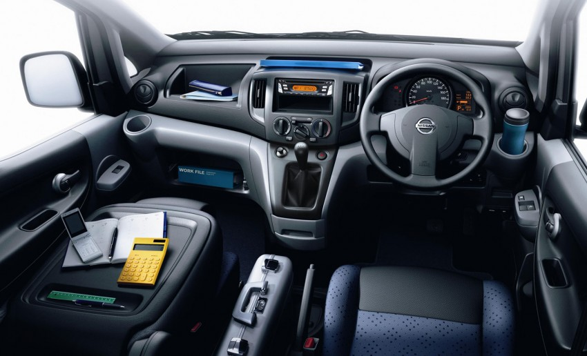 Nissan NV200 Vanette launched: successor to the C22 Image #88575