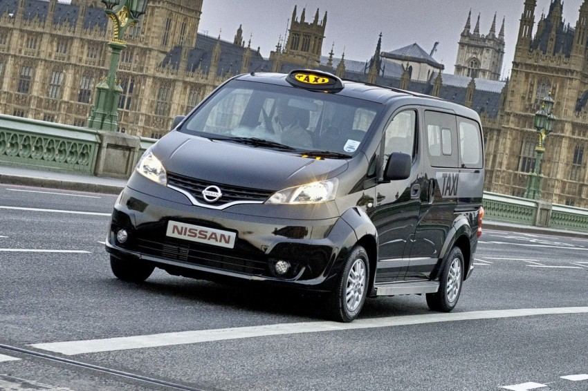 Nissan eyeing world taxi domination with the NV200 van – after New York, London's black cab is next Image #123532