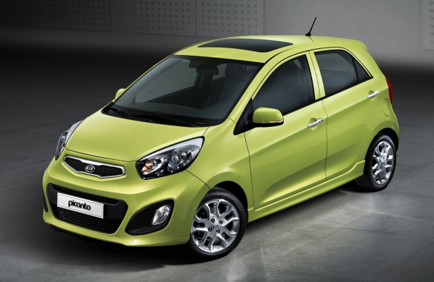 Next generation Picanto (front side)