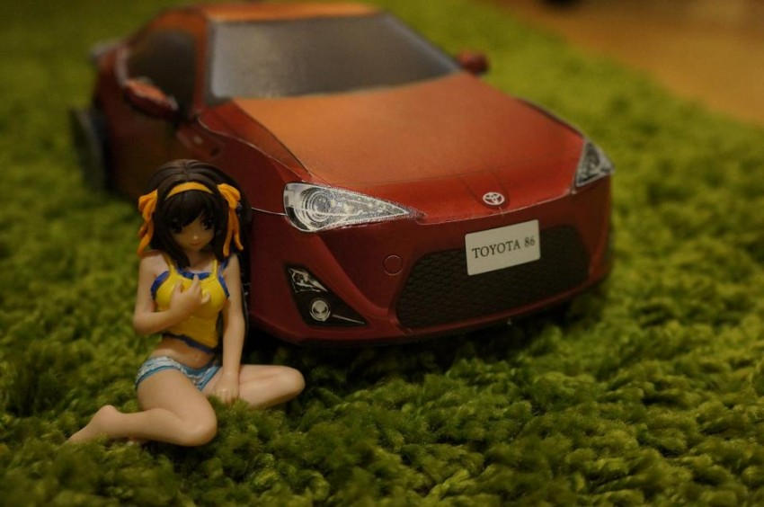 Toyota 86 assembled. Photo taken. Prize will be won. Image #104279