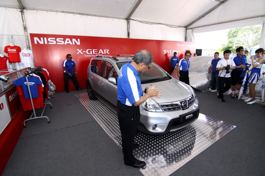Nissan Sylphy and Livina X-Gear Tuned by Impul unveiled at Super GT Round 3 in SIC Image #112008
