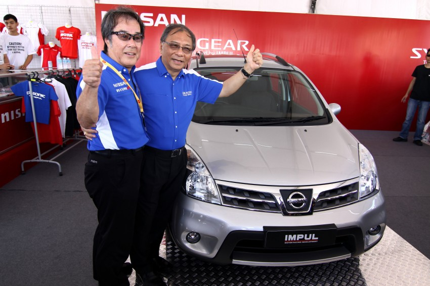 Nissan Sylphy and Livina X-Gear Tuned by Impul unveiled at Super GT Round 3 in SIC Image #112009