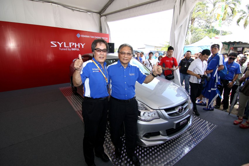 Nissan Sylphy and Livina X-Gear Tuned by Impul unveiled at Super GT Round 3 in SIC Image #112012
