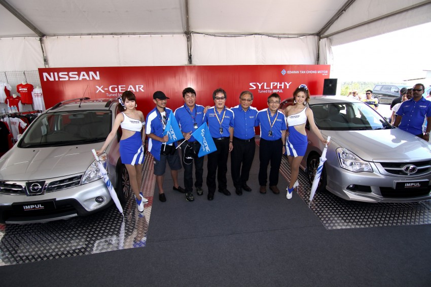 Nissan Sylphy and Livina X-Gear Tuned by Impul unveiled at Super GT Round 3 in SIC Image #112013