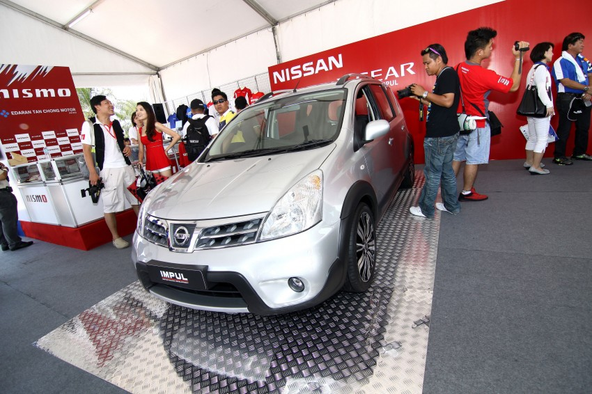 Nissan Sylphy and Livina X-Gear Tuned by Impul unveiled at Super GT Round 3 in SIC Image #112030