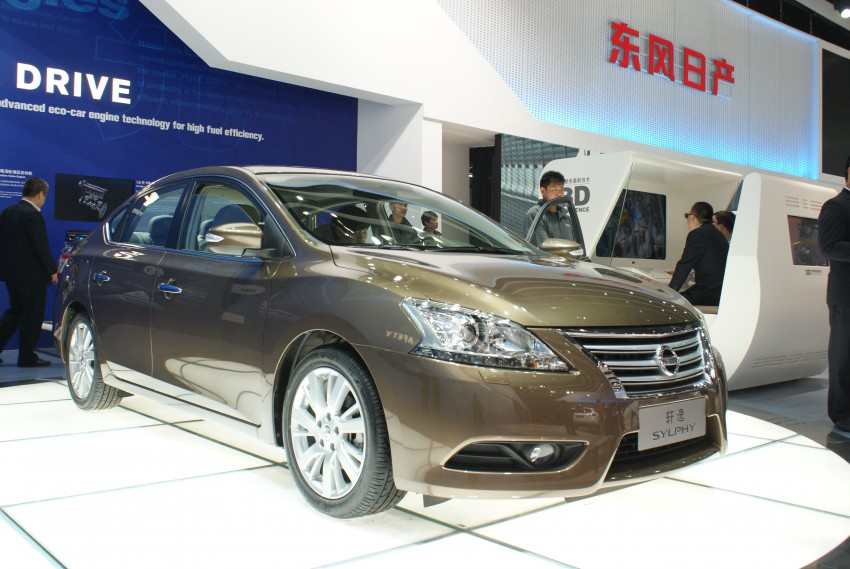 Nissan Sylphy gets new engine and updated CVT Image #103236