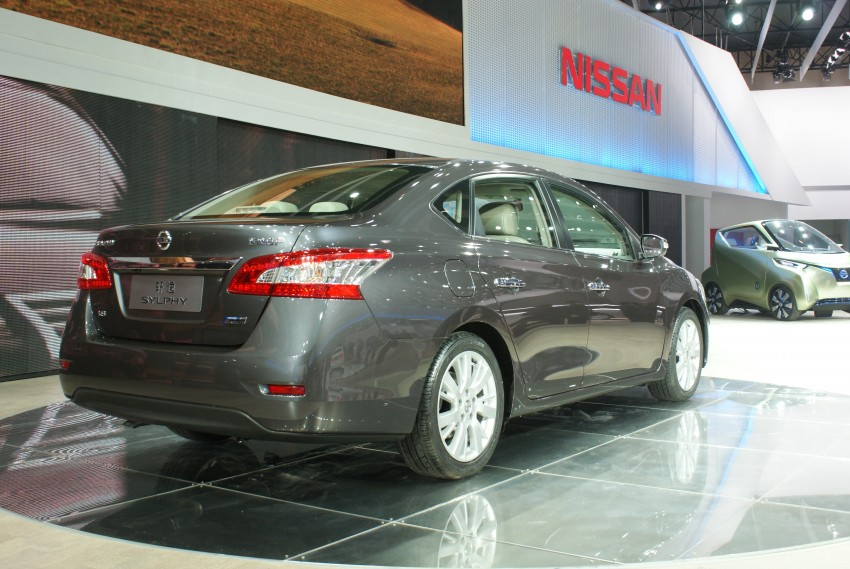 Nissan Sylphy gets new engine and updated CVT Image #103237