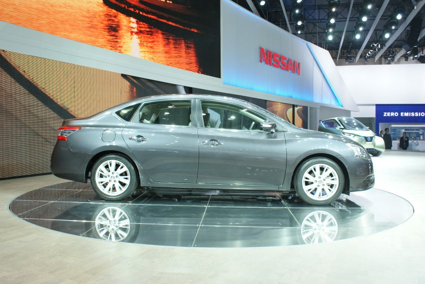 Nissan Sylphy gets new engine and updated CVT Image #103238