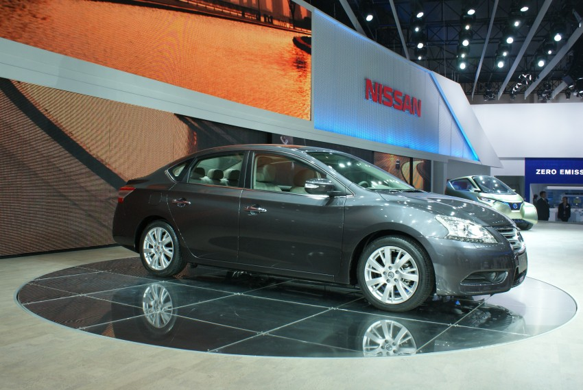 Nissan Sylphy gets new engine and updated CVT Image #103239