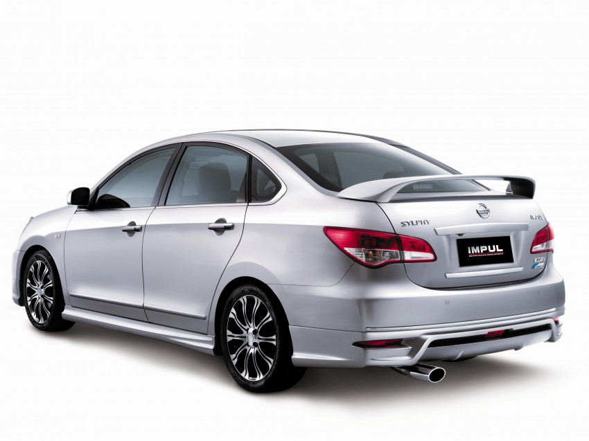 Nissan Sylphy and Livina X-Gear Tuned by Impul unveiled at Super GT Round 3 in SIC Image #112098