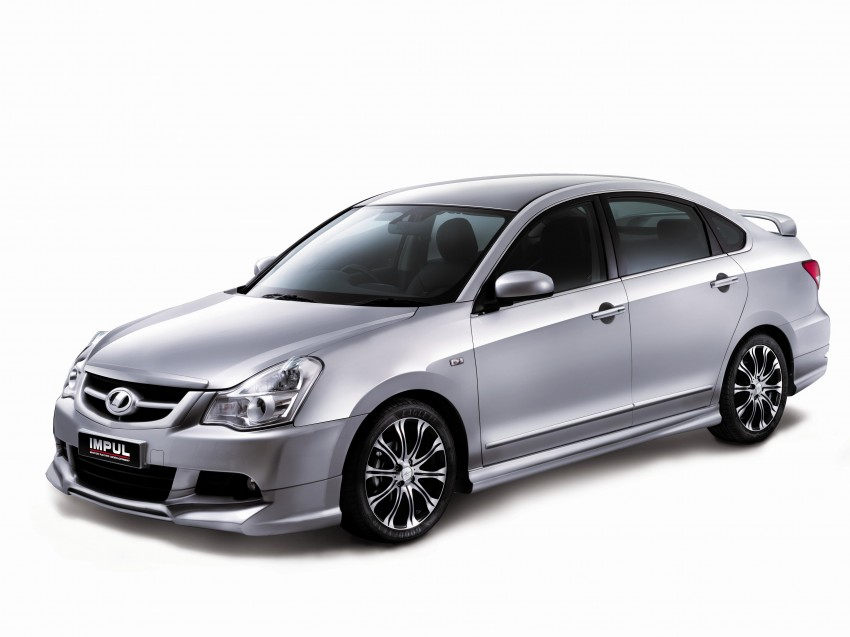 Nissan Sylphy and Livina X-Gear Tuned by Impul unveiled at Super GT Round 3 in SIC Image #112099