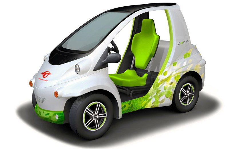 Toyota COMS – all-new single-seater EV to debut Image #112468