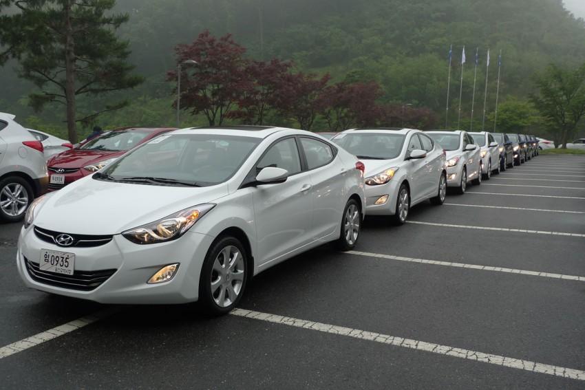 DRIVEN: Hyundai Elantra MD tested in Korea! Image #96886