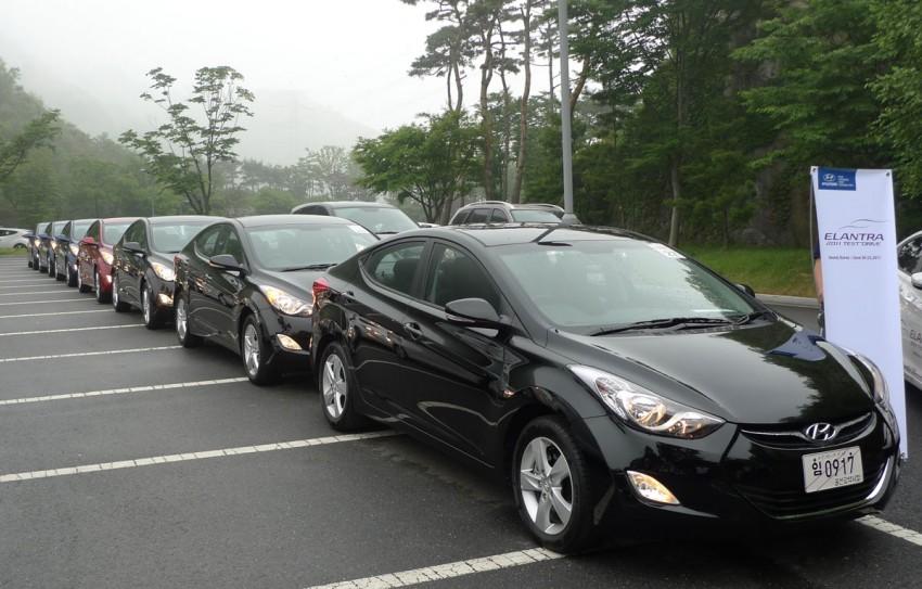DRIVEN: Hyundai Elantra MD tested in Korea! Image #96887