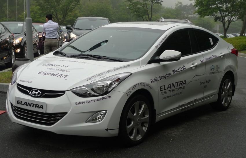 DRIVEN: Hyundai Elantra MD tested in Korea! Image #96888