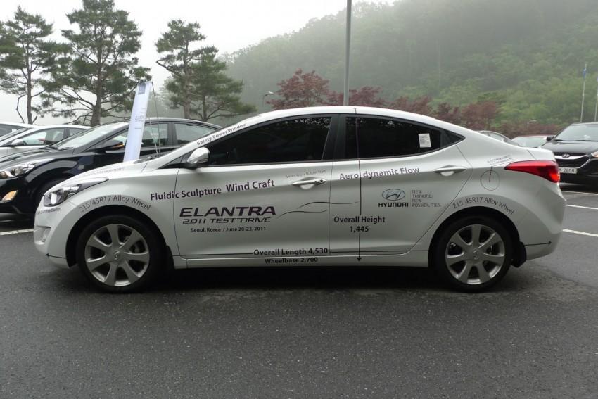 DRIVEN: Hyundai Elantra MD tested in Korea! Image #96889