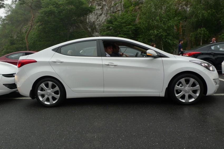 DRIVEN: Hyundai Elantra MD tested in Korea! Image #96915
