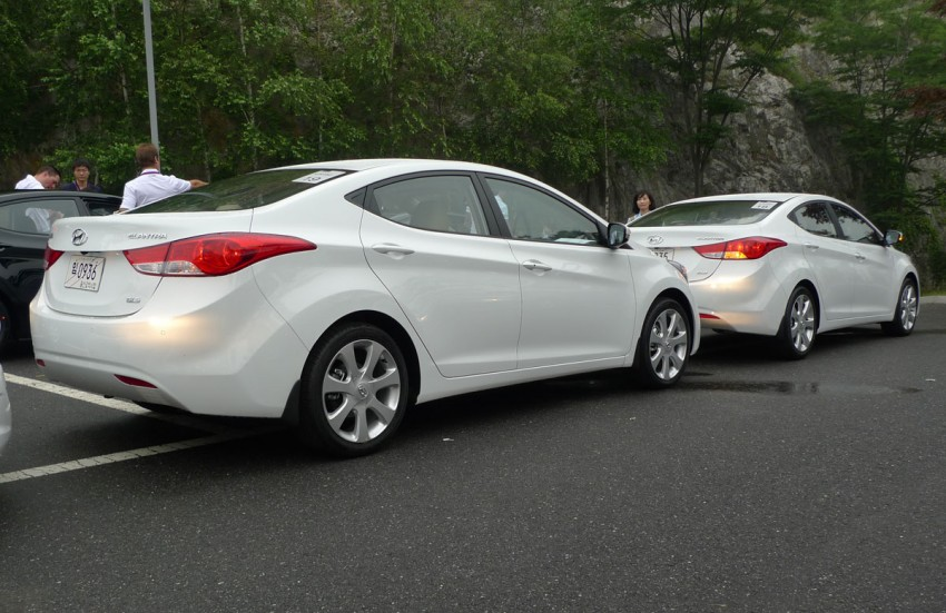 DRIVEN: Hyundai Elantra MD tested in Korea! Image #96916