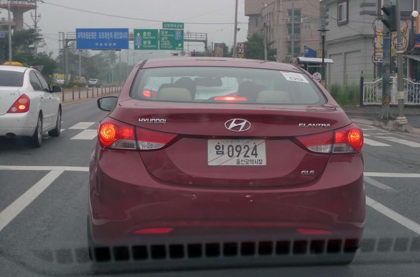 DRIVEN: Hyundai Elantra MD tested in Korea! Image #96919