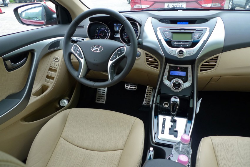 DRIVEN: Hyundai Elantra MD tested in Korea! Image #96929
