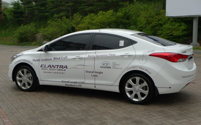 DRIVEN: Hyundai Elantra MD tested in Korea! Image #96934